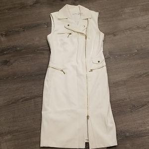 Calvin Klein Cream trench dress, NWT